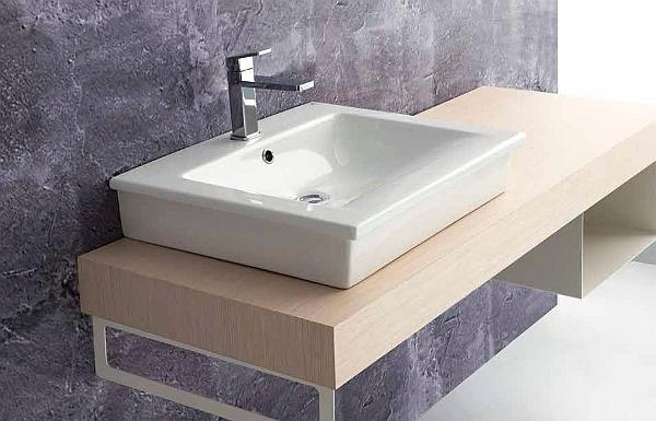 Ceramica ala lavabo d 39 arredo ceramiche civita castellana classico con decoro decor - Arredo bagno civita castellana ...